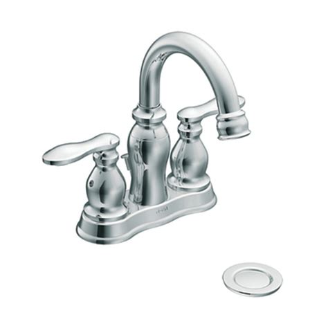 moen ca84668 caldwell two handle low arc bathroom sink