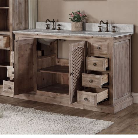 rustic style ideas  rustic bathroom vanities