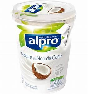 Yaourt Noix De Coco : alternative vegetale au yaourt nature la noix de coco alpro ~ Melissatoandfro.com Idées de Décoration