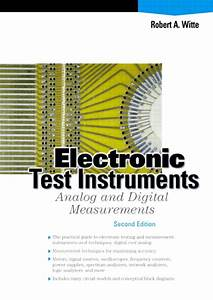 Electronic Test Instruments  Analog And Digital