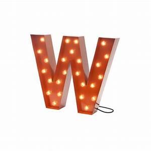 Lettre Decorative A Poser : lettre lumineuse d co en 14 coloris fabriqu e en su de ~ Dailycaller-alerts.com Idées de Décoration