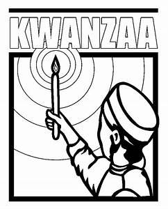 Kwanzaa Kinara Coloring Page - Coloring Home