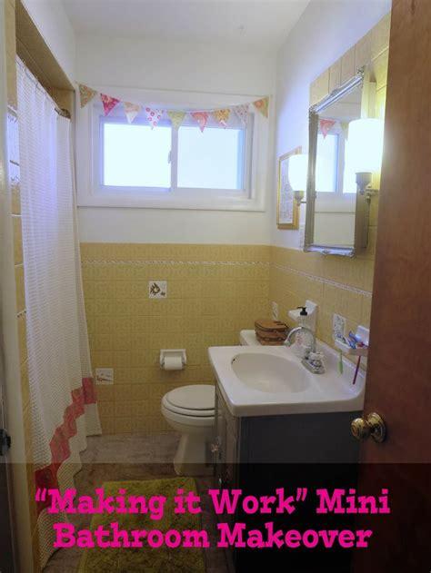 harvest gold bathroom images  pinterest