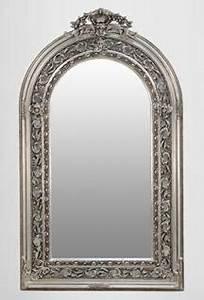 Großer Spiegel Silber : gro er prunkvoller barock spiegel halbrund silber 185 x 110 cm kaufen bei demotex gmbh ~ Indierocktalk.com Haus und Dekorationen
