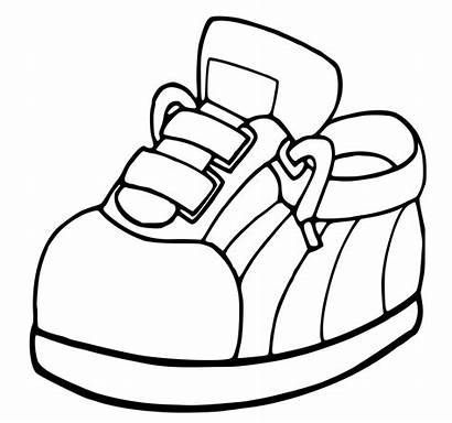 Coloring Shoes Pages Printable Getcoloringpages