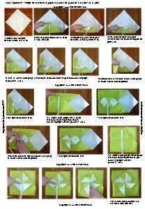 Pliage Serviette Moulin A Vent : pliage de serviettes de table en papier pliage de papier origami deocration de table plier ~ Melissatoandfro.com Idées de Décoration