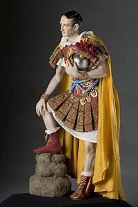 Full length portrait of Julius Caesar aka. Gaius Julius ...