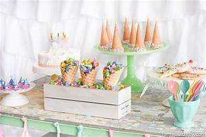 Ice Cream Party Decorations, Treats & Theme Ideas