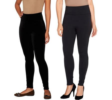 assets red hot label  spanx shaping leggings qvccom