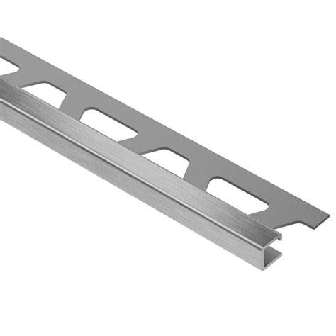 schluter quadec shop schluter systems quadec right angle edge trim 3 8 in at lowes com