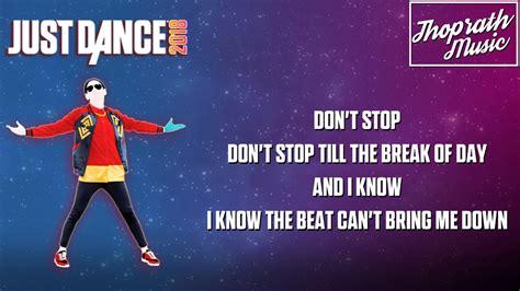 Sugar Dance Lyrics The Just Band Youtube