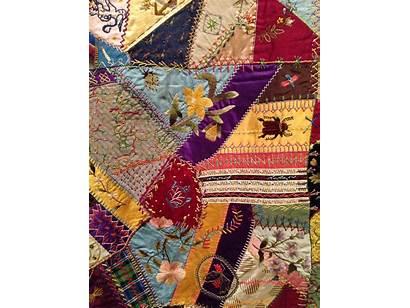 Crazy Quilt Quilts Talk Archive Cspm Museum