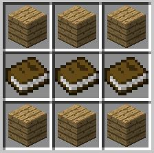 Bookcase Recipe how to make a bookshelf in minecraft 9 steps with pictures