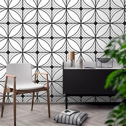 Deco Designs Geometric Moonwallstickers Modern Geometry Wall