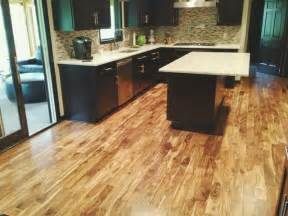 solid acacia prefinished contemporary kitchen minneapolis by unique wood floors