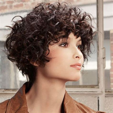 Pixie Hairstyles For Thick Curly Hair by 25 Best Ideas About Thick Curly Haircuts On