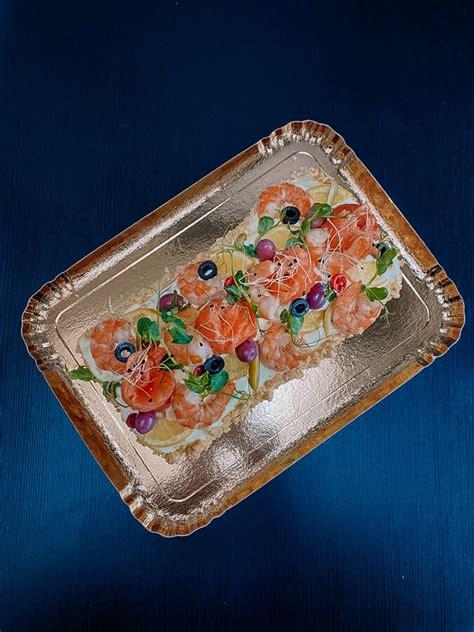 Rulete ar lasi un garnelēm kg - Sāļās tortes/biskvīta ...