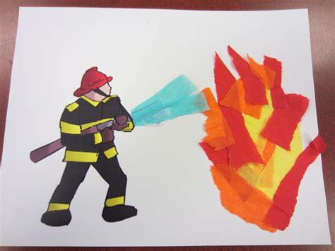 a pre printed firefighter picture and torn tissue paper 157 | 20b493fa2bcc5de5730f1062bf28da8b