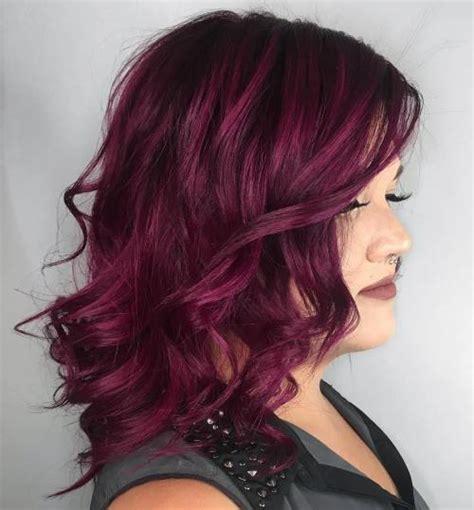 shades  burgundy hair dark red maroon  red wine