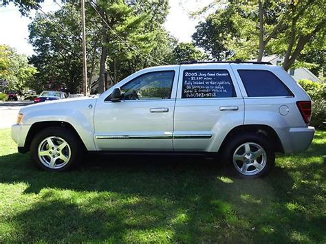 jeep cherokee sport 2005 find used 2005 jeep grand cherokee limited sport utility 4