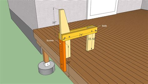 Deck Bench Design by Deck Bench Plans Free Howtospecialist How To Build