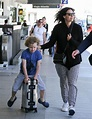 Minnie Driver Photos Photos - Minnie Driver and Son Henry ...