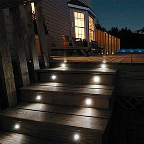 10pcs lots rgb color led outdoor light for patio pavers