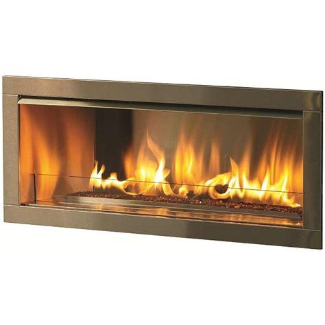 propane gas fireplace firegear od42 42 inch propane gas outdoor fireplace insert