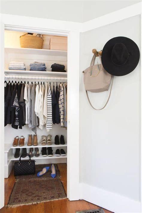 25+ Great Ideas About Minimalist Closet On Pinterest