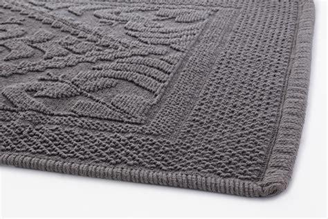 tappeto bagno moderno tappeto in cotone 60x120 cm salvador grigio arredo bagno