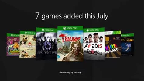 xbox july free games xbox pass with gold july updates revealed news opinion pcmag