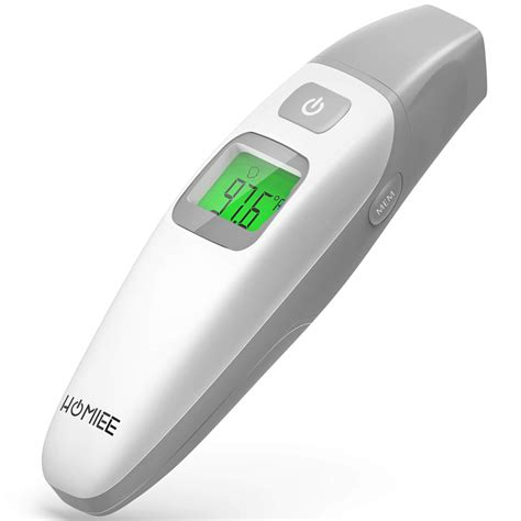 Amazon.com: HOMIEE Forehead and Ear Thermometer, No