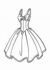 Coloring Pages Dresses Printable Olds sketch template