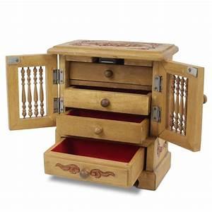 Schmuckkästchen Aus Holz : schmuckschrank schmuckschatulle schr nkchen schmuckkasten ~ Watch28wear.com Haus und Dekorationen