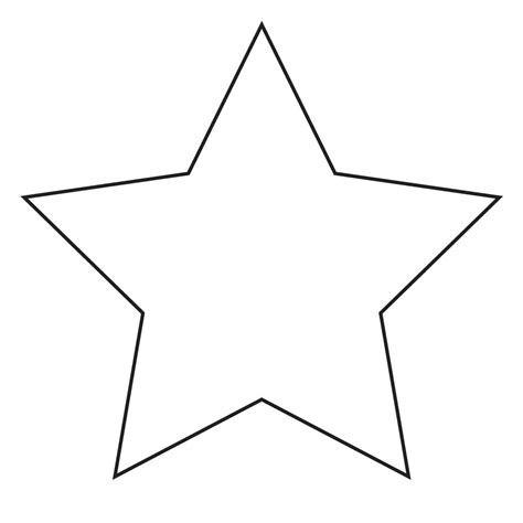 large star 5 best images of large stencil printable large template 5 point template and