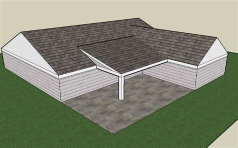 www car porch l com what type of porch roof can i build for l shaped house search home style in 2019