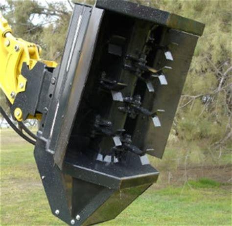 rockhound brushhound model  brush mowershredder  mini excavators  backhoes