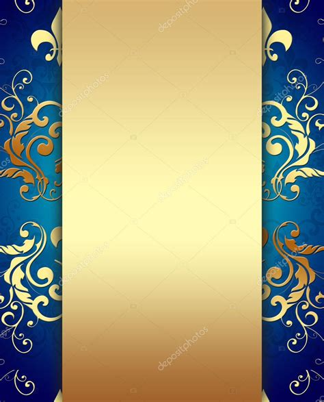 elegant golden blue background stock photo  digifuture