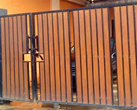 mempercantik rumah  pagar kayu rumah diy