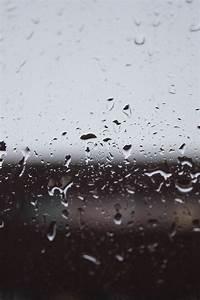 background, cloudy, dark, gray, grey, rain, raindrops ...