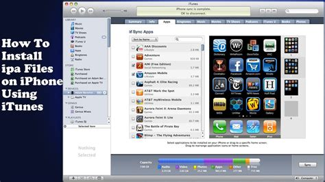 how to put on iphone how to install ipa files on iphone tutorial