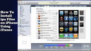 how to install ipa files on iphone tutorial youtube With documents 5 iphone youtube