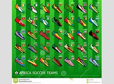 African Soccer Teams Royalty Free Stock Images Image