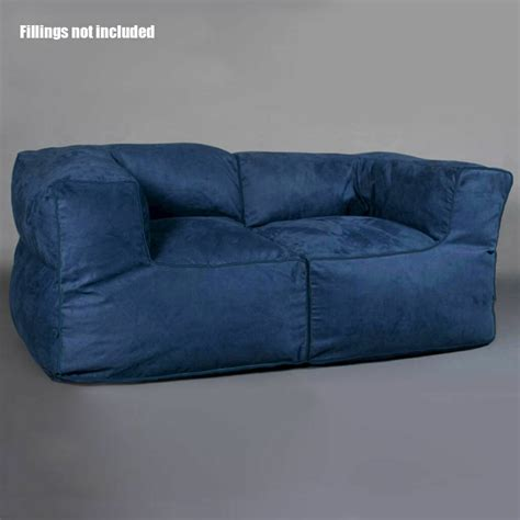 luxury  person sofa couch bean bag cover indoor loveseat