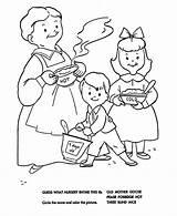 Porridge Nursery Coloring Rhymes Pease Goose Mother Quiz Sheets Printable Bluebonkers Rhyme Unisex sketch template