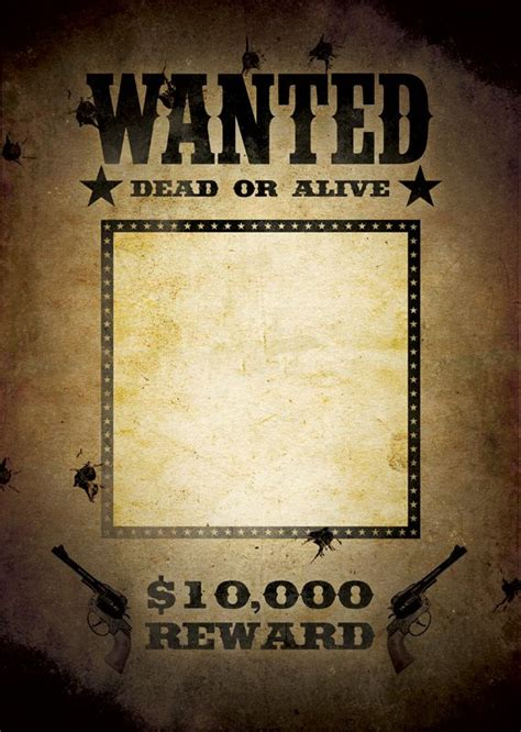 wanted poster template mexican themed party pinterest