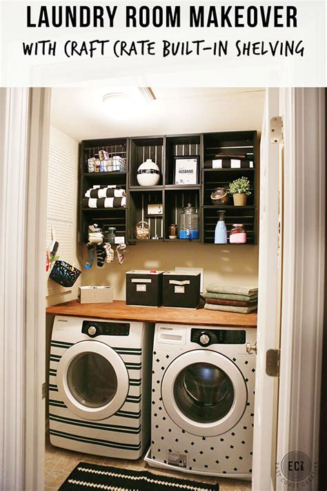 laundry room makeover washer dryer facelift with