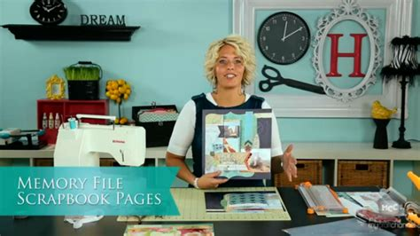 my craft channel oct 24th heidi swapp memory file