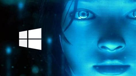 voice assistant cortana   holographic avatar