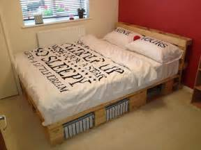 Pallet Bed Frame For Sale by Beautiful Diy Pallet Bed 99 Pallets